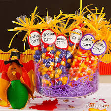 corn favors idea thanksgiving appetizer dessert ideas