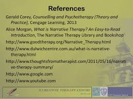 Corey Counselling Theory And Practice Narrative Therapy
