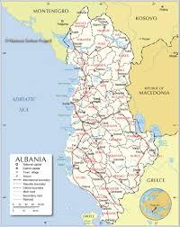 Map Of Albania Albanian Cities Albania Real Estate