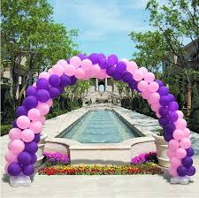 wedding arch ebay australia 3 1x 2 8m balloon arch pole kit clip connecters adjustable wedding