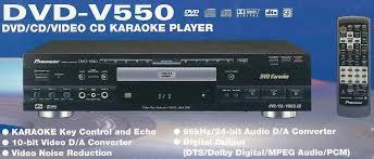 pioneer dvd v550dvd vcd cd karaoke player seattle karaoke