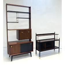 G Plan Room Divider G Plan Ebonised Beech And Brass Librenza E Gomme 1950s