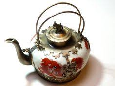 britannia metal teapot from sheffield vintage