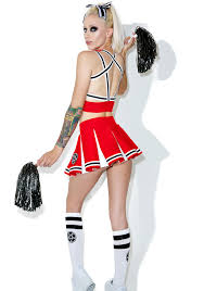 Cheerleader Costume Halloween Dolls Kill Satan U0027s Cheerleader Dolls Kill