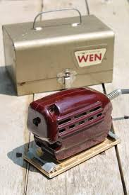 1950s Toaster Vintage Electric Palm Sander 1950s Red Bakelite Woodworking Power