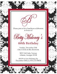 Content For Invitation Card 60th Birthday Invitation Wording U2013 Gangcraft Net