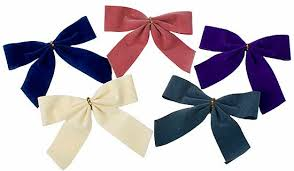 pre bows velveteen pre ribbon bows 72 pieces ribbon and trims