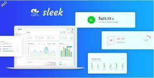 sleek web application u0026 sass admin panel psd template free