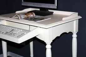 Pc Schreibtisch Landhaus Pc Tisch Schreibtisch Massiv Holz Cremeweiß Lackiert