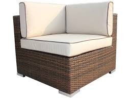 Outdoor Rattan Corner Sofa Florida Outdoor Rattan Corner Brown