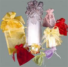 large organza bags 6x15 in x large organza bags in 24 colors 6 pk