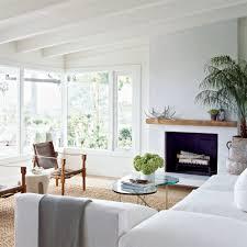 White Livingroom Rustic Beach Living Rooms Carameloffers