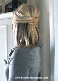www hairstyle pin half up hairstyles short hair my ontario winter wedding