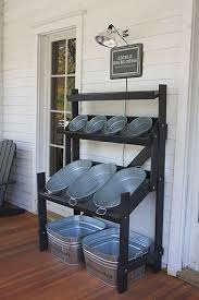 Backyard Oasis Storage And Entertaining Station Diy Drink And Snack Storage For Back Yard Parties Love This