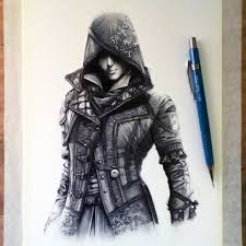 Arcadeck by Assassin U0027s Creed 4 Fan Art Drawing By Lethalchris On Deviantart