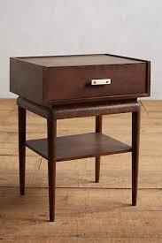 nightstand in dark brown