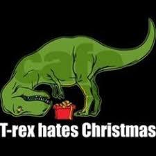 Meme T Rex - t rex hates high fives women s dark women s classic t shirt satire