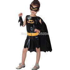 Batgirl Halloween Costumes Aliexpress Buy Party Dress Cosplay Batman Kids Girls Batgirl