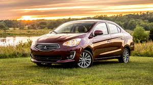 mitsubishi mirage 2017 mitsubishi mirage g4 review slightly better than the hatch