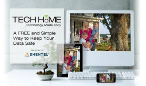 tech home online security provided by shentel