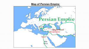 Babylonian Empire Map Of The Persian Empire 490 Bc Old Maps Of Persia Best 25 Persian