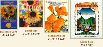 custom seed packets custom designed promotional seed packets