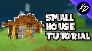 easy small house minecraft tutorial youtube