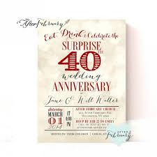 designs free 40th wedding anniversary invitations templates also