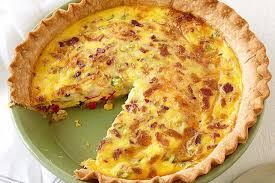cuisine quiche bacon and cheese quiche recipe kraft recipes