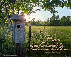 Sayings About Home by Quote About Home Image