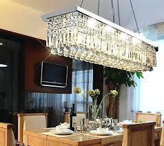 Rectangle Dining Room Light Chandelier Dining Room Rectangular Chandelier