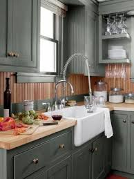 how to paint kitchen cabinets a burst of beautiful sage green kitchen while most folks opt for white in the kitchen