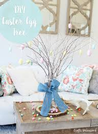 diy easter tree decor step by step consumer crafts