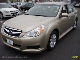 subaru gold 2010 subaru legacy 2 5i premium sedan in harvest gold metallic