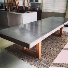 concrete tables for sale dining tables breathtaking concrete room table design intended for
