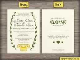 wedding invitations canada custom style wedding invitation from winnipeg canada