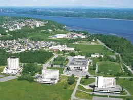 Notre Dame Campus Map Campus Notre Dame De Foy Tourism U0026 Convention Service Student