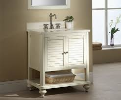Islander  Inch Tropical White Bathroom Vanity White Finish - White vanities for bathrooms