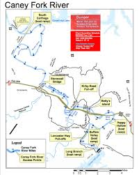 Tennessee Map Us by Localwaters Caney Fork Rivers Map Boat Ramps Charts Access Areas