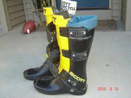 size 16 motocross boots vintage scott boots