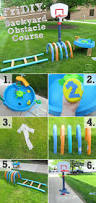 backyard obstacle course ideas christmas lights decoration