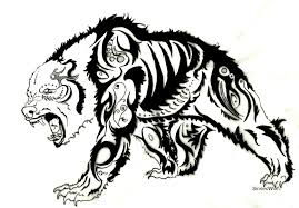 tribal grizzly bear tattoo designs real photo pictures images