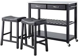 crosley furniture kitchen cart crosley furniture portable kitchen cart with stainless