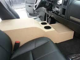 dodge ram center console sub box custom center console and sub enclosure build chevy truck forum