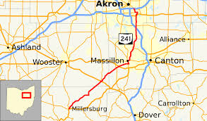 Map Akron Ohio by Ohio State Route 241 Wikipedia