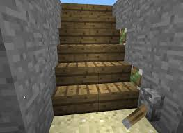 Stone Stairs Minecraft by Minecraft Pig Create A Hidden Passage Underneath Stairs