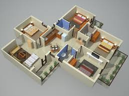 4bhk house 3d view earth infrastructure noida extension residential property
