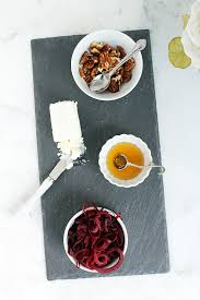 cheese plate mini cheese plate with warm beet noodles inspiralized