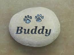 pet memorial stones engraved pet memorial small river rock