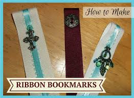 ribbon bookmarks diy craft make your own ribbon bookmark tutorial devotedtomaker